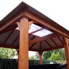 Gazebo, Pergola, Western Red Cedar, Skylight, Landscape Design, Westerns, Home And Garden, Outdoor Structures, Kiosk
