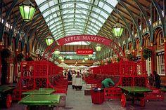 Apple Market, Covent Garden, London, England