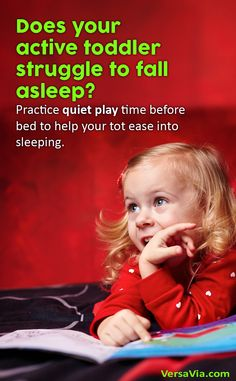 Try reading a book, playing with toys quietly and even dimming the lights in the room. Keep a favorite stuffed animal in the crib so your toddler has something to play with before bed.