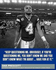 Love Dak & have complete faith in him Dallas Cowboys Decor, Dallas Cowboys Players, Fall Football, Football Memes, Football Team, Dak Prescott Family, Mississippi State Bulldogs, Texas Longhorns, Cowboy Love