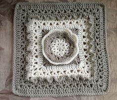 "Ravelry: Frostbloom 12"" Afghan Square pattern by Shan Sevcik"