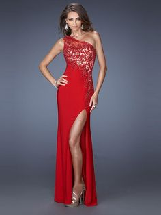 Sheath/Column Sleeveless One-Shoulder Applique Chiffon Floor-Length Dresses