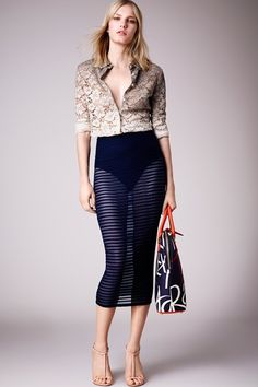 Sfilata Burberry Prorsum Londra - Pre-collezioni Primavera Estate 2015 - Vogue