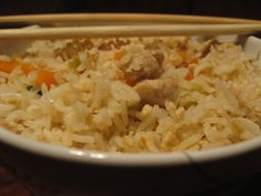 Cooking Up Something Nice: Chicken Fried Rice - a quick kid friendly meal