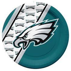 Philadelphia Eagles Disposable Paper Plates