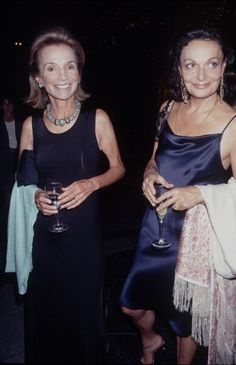 Diane von Furstenberg and  Lee Radziwill