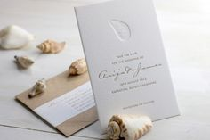 Modern Chevron Wedding Invitations by Meticulous Ink via Oh So Beautiful Paper (8)