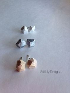 Rock your Essence…Handmade Diffusing Earrings  www.stillLily.etsy.com Lily, Stud Earrings, Rock, My Style, Handmade, How To Wear, Jewelry, Fashion, Moda