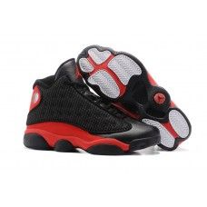 022d59b384f8c0 Air Jordan XIII Retro Bred Black Varsity Red White 414571-004 - Air Jordan  13 shoes sale