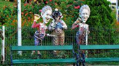 Orășelul Copiilor - Bucureşti Garden Sculpture, Outdoor Decor, Home Decor, Interior Design, Home Interiors, Decoration Home, Interior Decorating, Home Improvement
