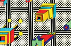 It's Nice That : Memphis co-founder Nathalie du Pasquier's un-serious book of drawings