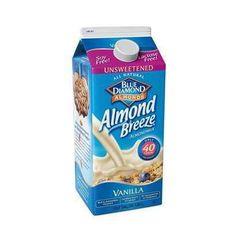 Blue Diamond Unsweetened Vanilla Almond Breeze (12x11oz )