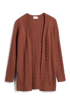 """Stitch Fix Stylist: I love cable knit and the """"stylish grandpa"""" look I get made fun of for. the color is perfect for me! Stitch Fix Fall, Stitch Fit, Stitch Fix Outfits, Cable Knit Cardigan, Stitch Fix Stylist, Everyday Fashion, What To Wear, Style Me, Autumn Fashion"""
