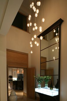A Photo Gallery Of Internal And External Lighting For Fabulous New Build House In South Yorkshire
