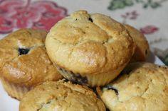Keto Lemonberry Muffins