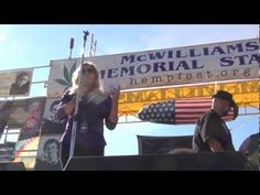 Seattle Hempfest 2012 -Cheryl Shuman Speech McWilliams Stage Day 3 with the CANNAcig...