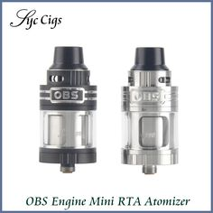 >> Click to Buy << Original OBS Engine RTA Tank with 5.2ml E-juice Capacity Side Filling Temperature Control Engine Rebuildable Atomizer Vape #Affiliate