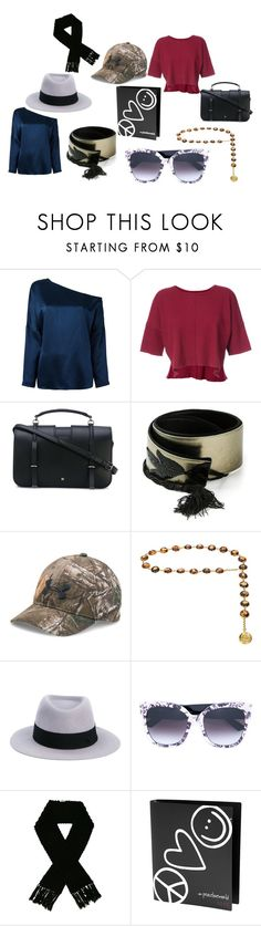 """""""assorted"""" by emmamegan-5678 ❤ liked on Polyvore featuring TIBI, daniel patrick, Yves Saint Laurent, Jean-Louis Scherrer, Under Armour, Chanel, Maison Michel, Gucci, EGREY and Peace Love World"""