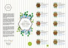 Bio Tea - Chás Biológicos Orgânicos - Carta Menu Bio Tea // Lendas Sublimes - Produtos Gourmet