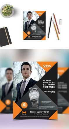 Product Flyer Template PSD - US Letter Size