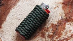 How To Do A Paracord Lighter Wrap by WhyKnot on Youtube