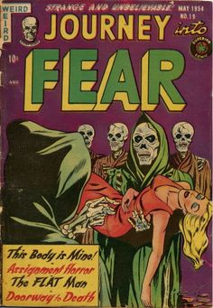 Cover for Journey into Fear (Superior Publishers Limited, 1951 series) #19