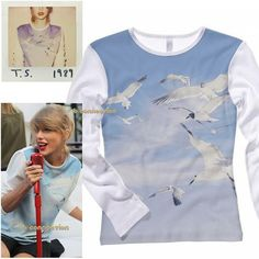 Designer Clothes, Shoes & Bags for Women Taylor Swift Costume, Long Sleeve Tops, Long Sleeve Shirts, Get The Look, Lady, Tees, Sweatshirts, Polyvore, Sweaters