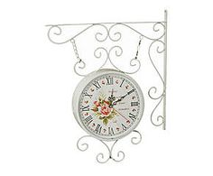 Orologio da parete in acciaio Doroty - d 24 cm
