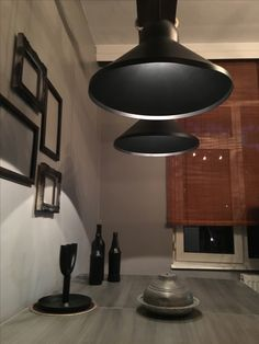#black #oldwood #led #ahsap #gray #table #aydınlatma