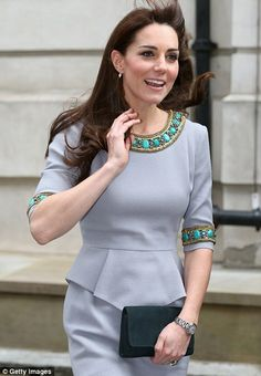 Kate is in high spirits as she arrives at the Place2Be Headteacher Conference at Bank of A...
