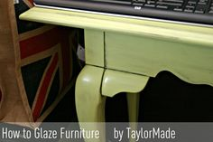 How to Glaze Furniture for an Antique Look