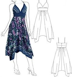 Tremendous Sewing Make Your Own Clothes Ideas. Prodigious Sewing Make Your Own Clothes Ideas. Fashion Sewing, Diy Fashion, Ideias Fashion, Dress Sewing Patterns, Clothing Patterns, Sewing Clothes, Diy Clothes, Make Your Own Clothes, Scarf Dress