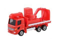 Takara Tomy Tomica #30 Hino Ranger Heavy Construction Machinery Transporter Toy #Tomica