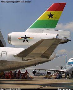 Ghana Airways McDonnell Douglas DC-10-30 @ LHR