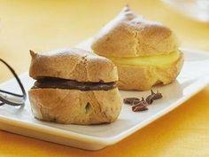 Resep Kue Sus Isi Vla Coklat - Berikut ini ada sebuah rahasia cara membuat kue sus isi vla coklat yang renyah, gurih dan empuk.
