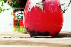 Blueberry Basil Lemonade sounds refreshing for summer