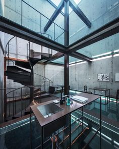 The Vertical Glass House by Atelier FCJZ