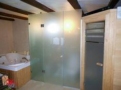 camera de dus inchisa cu sticla sablata uniform, securizata Bathtub, Bathroom, Design, Cabin, Standing Bath, Washroom, Bathtubs, Bath Tube, Full Bath