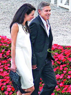 George Clooney and Amal Alamuddin Pregnant and Wedding: Celebrity News | OK! Magazine