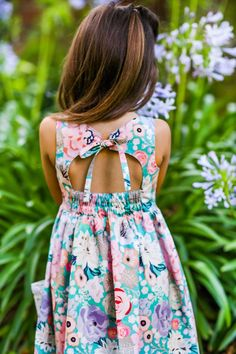 June Dress – Violette Field Threads Dresses For Tweens, Girls Dresses, Summer Dresses, Toddler Dress, Toddler Girl, Fun Quizzes To Take, Simple Girl, Coordinating Fabrics, Dress Backs