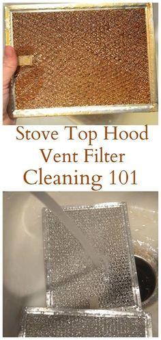 Life Saving Hacks: Stove Top Hood Vent Filter Cleaning   DIY Beauty Fashion