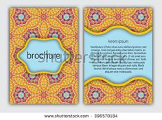 #Brochure orange #cover template. #Booklet, brochure, #card, #book cover layout #design.