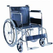 Steel Wheelchair Hard Seat
