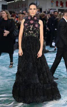 Jennifer Connelly Makes It Work in Alexander McQueen
