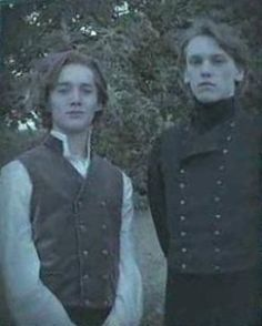 Albus Dumbledore with his friend Gellert Grindelwald. -- OH MY GOD, IT'S JACE! I DIDN'T NOTICE THIS. DID YOU?
