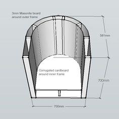 HOME DZINE Home DIY | How to make a tub chair