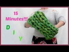 How To Make A Cowl Infinity Scarf - YouTube