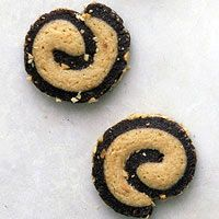 Black and tan pinwheels  Best for those who want the fixins.