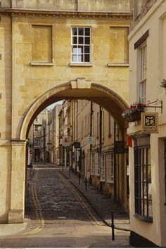Street Scene, Bath, England