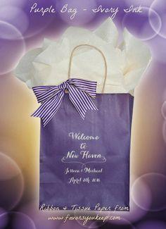 Wedding Welcome Bags Personalized Wedding by WelcomeBagsWeddings
